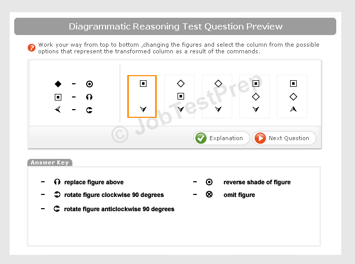 Logical reasoning test examples info preparation jobtestprep ccuart Gallery