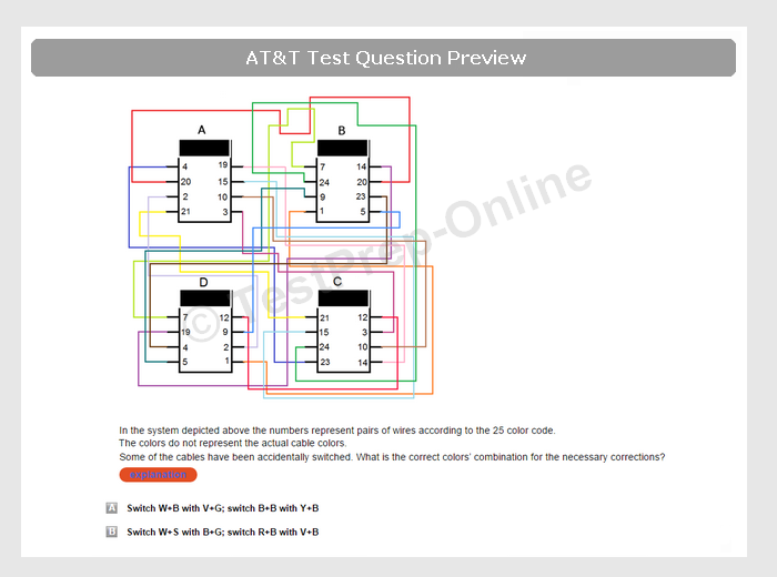 At Amp T Technical Mechanical Test Preparation Online