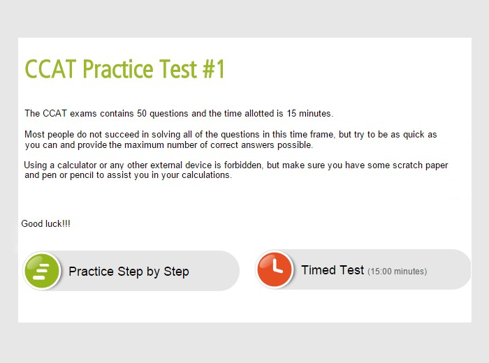 Criteria Cognitive Aptitude Test Ccat Sample Questions