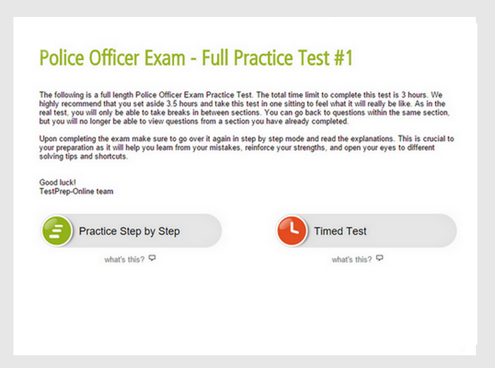 California Police Exams Practice Tests and Tips - JobTestPrep