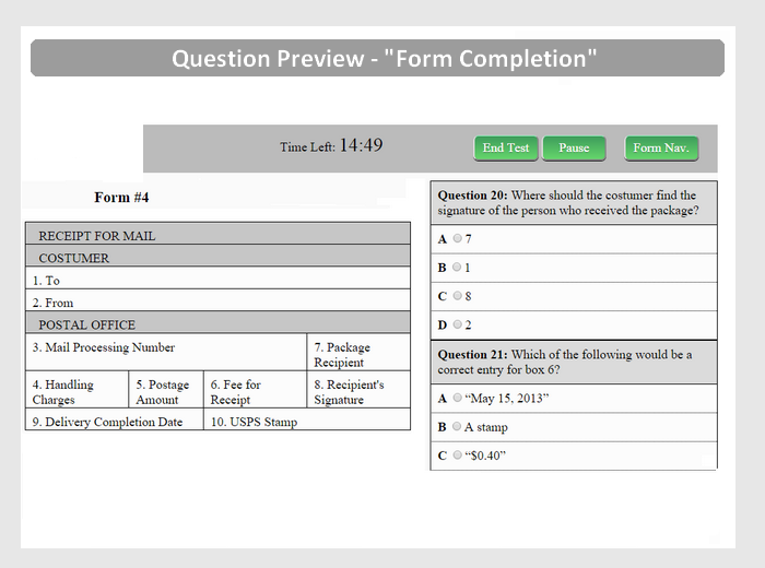 Free Postal Exam 473 Practice Test - JobTestPrep