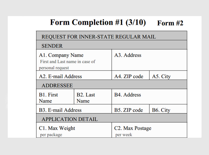 Postal 473 part b mailing permit application test-guide. Com.