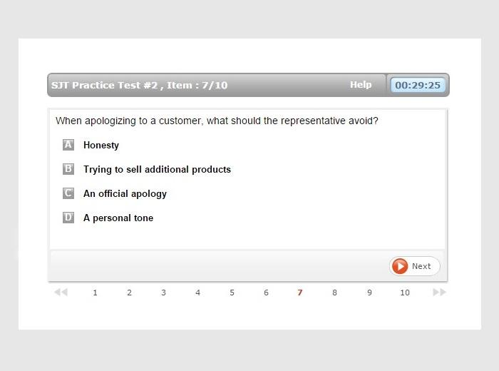 Sales Assessment Test - Online Preparation - JobTestPrep
