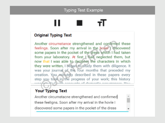 Complete procedure of the typing test/skill test for ssc chsl exam.