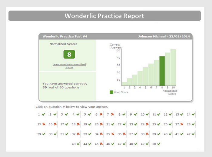 Free Wonderlic Sample Test with Answers & Explanations - JobTestPrep