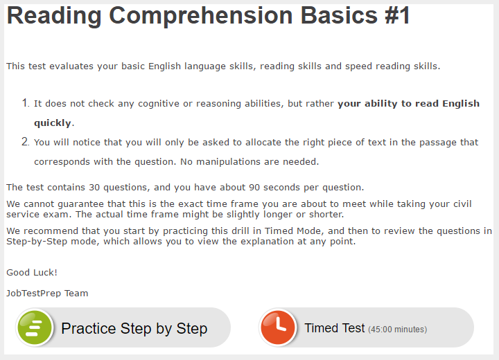 A mechanic testing study guides