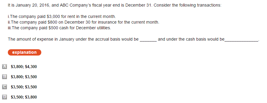 accounting test questions To view this page ensure that adobe flash player version 1000 or greater is installed.