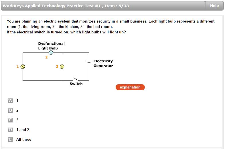 workkeys applied technology test preparation