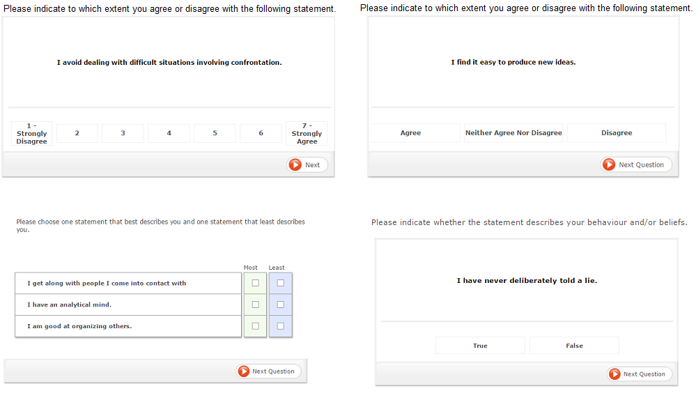 Online Personality Assessment Test Preparation For Jobs Jobtestprep