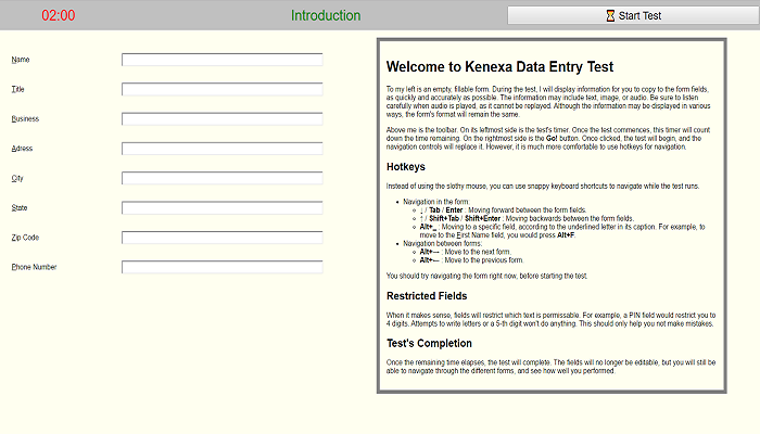 Prepare for Your Kenexa Prove It Data Entry Test