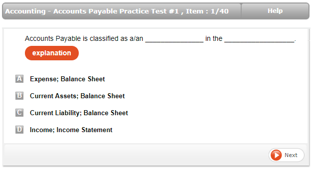 CRA Accounting Sample Question