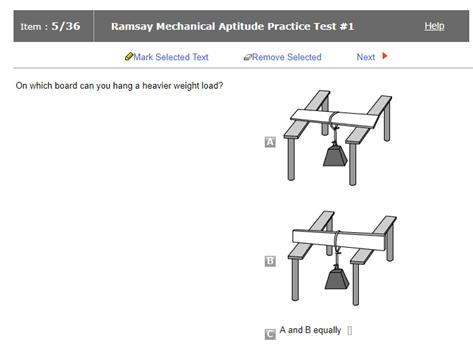 ramsey maintenance practice test