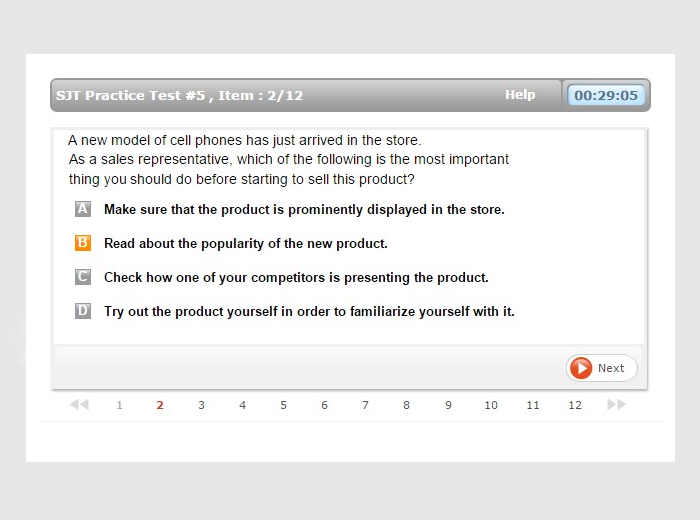 home depot assessment test - prep and advice