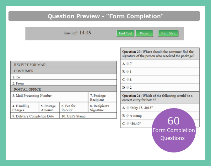 Free Postal Exam 473 Sample Questions & USPS Practice Tests