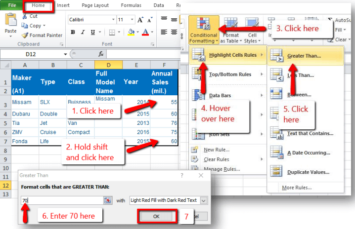 Free Kenexa Excel Test ▷ Prove It! Excel Test Sample Questions