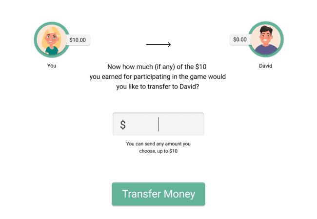 Pymetrics Money Exchange Game