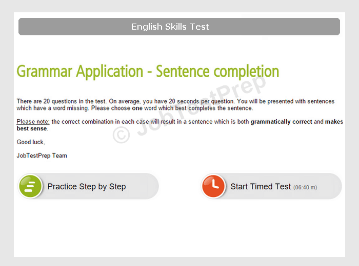 english typing test paragraph