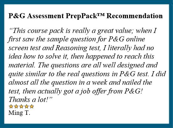 P G Online Assessment Tips Practice Faq 2020 Jobtestprep